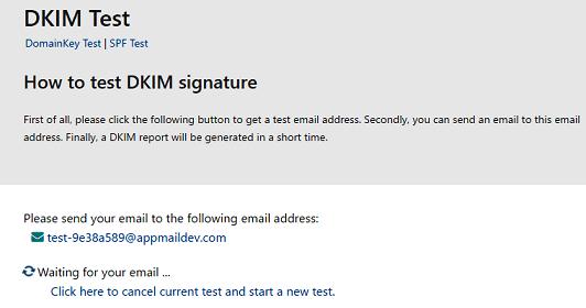 DKIM Test