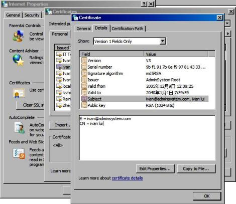 S/MIME, Digital Signature, Encrypted Email in VB6, ASP, C++