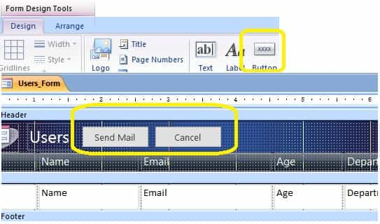 vba access add button