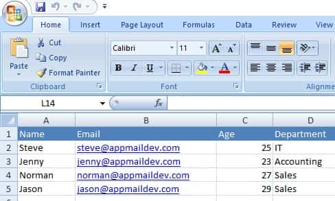 Send Email from Excel using VBA and VBScript - Tutorial
